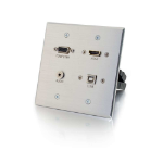 C2G 39703 socket-outlet Aluminium