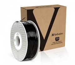 Verbatim 55327 3D printing material Polylactic acid (PLA) Black 1 kg