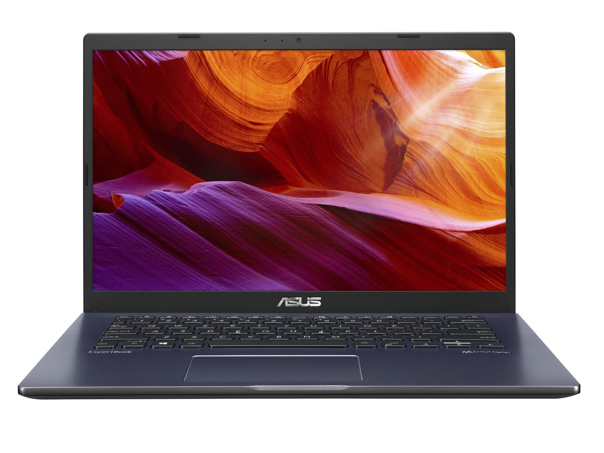 """ASUS P1410CJA-EK197R DDR4-SDRAM Notebook 35.6 cm (14"""") 1920 x 1080 pixels 10th gen Intel® Core™ i5 8 GB 256 GB SSD Wi-Fi 5 (802.11ac) Windows 10 Pro Black"""
