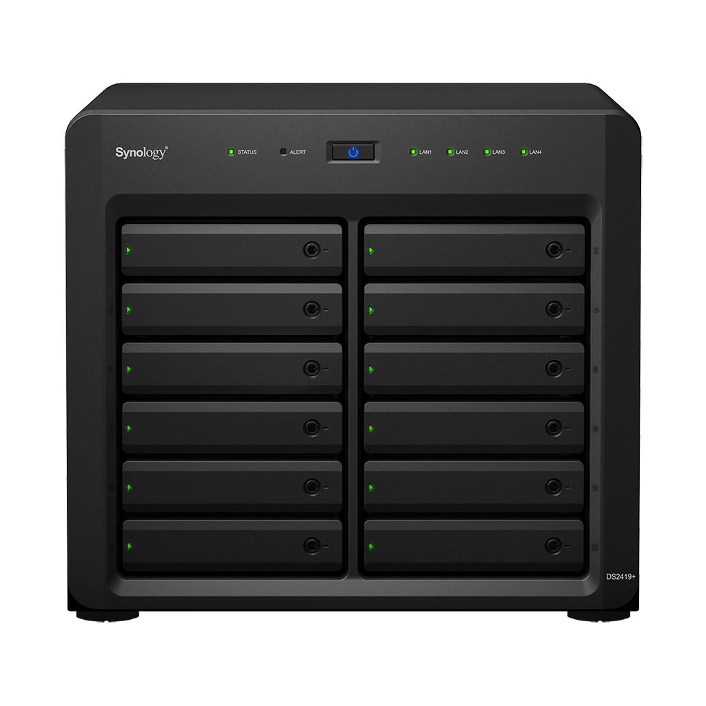 Synology DiskStation DS2419+ C3538 Ethernet LAN Desktop Black NAS