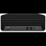 HP ProDesk 405 G6 DDR4-SDRAM 3400G SFF AMD Ryzen 5 8 GB 256 GB SSD Windows 10 Pro PC Zwart