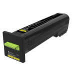 Lexmark 72K2XY0 Toner yellow, 22K pages