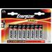 Energizer ER MAX E92 AA BATTERY PK 12