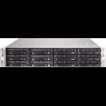 Supermicro 826BE1C-R741JBOD Rack Zwart 740 W