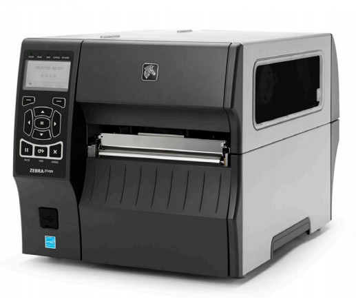 Zebra ZT420 labelprinter Thermo transfer Bedraad en draadloos