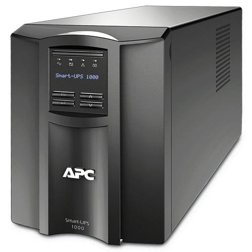 APC Smart-UPS Line-Interactive 1000VA 8AC outlet(s) Tower Black uninterruptible power supply (UPS)
