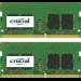 Crucial 16GB (8GBX2) DDR4 2400 SODIMM 1.2V 16GB DDR4 2400MHz memory module