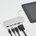 MCL USB3C-505 adaptador de cable Plata