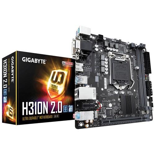 Gigabyte H310N 2.0 motherboard LGA 1151 (Socket H4) Mini ITX Intel H310 Express