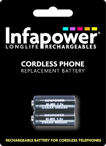 Infapower iDect 2/3AAA 400mAh Battery