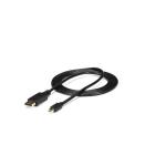 StarTech.com 6 ft Mini DisplayPort to DisplayPort 1.2 Adapter Cable M/M - DisplayPort 4k