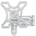 Manhattan 423755 Silver flat panel wall mount