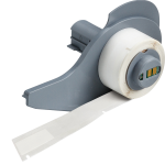 Brady M71-86-461 printer label Transparent, White Self-adhesive printer label