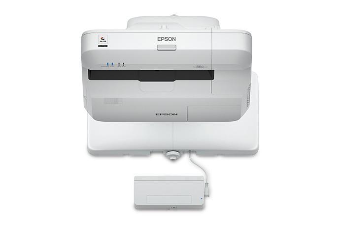 Epson BrightLink 696Ui Wall-mounted projector 3800ANSI lumens 3LCD WUXGA (1920x1200) Grey,White data projector