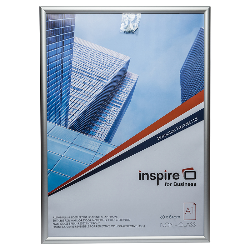 Photo Album Inspire for Business A1 Aluminium Snap Frame