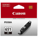 CANON CLI651BK INKJET CARTRIDGE BLACK