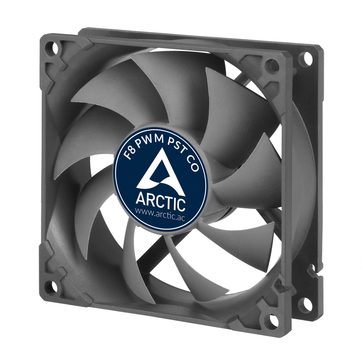 ARCTIC F8 PWM PST CO 80mm PWM with PST Case Fan for Continuous Operation