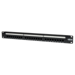 Tripp Lite 24-Port 1U Rack-Mount Cat5e 110 Patch Panel, 568B, RJ45 Ethernet