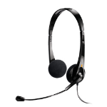 ClearOne Chat 10D Binaural Head-band Black headset