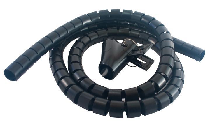 MCL 9G/25-1.5N protector de cable Mantenimiento de cables Negro