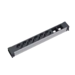 Bachmann 909.0026 power extension 4 AC outlet(s) Black