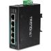 Trendnet TI-PG50 switch Gestionado Gigabit Ethernet (10/100/1000) Energía sobre Ethernet (PoE) Negro