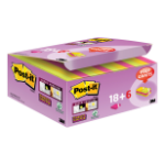 Post-It SS Color Notes 51x51 Pk24