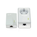 TP-LINK AV500 500Mbit/s Ethernet LAN White 1pc(s) PowerLine network adapter