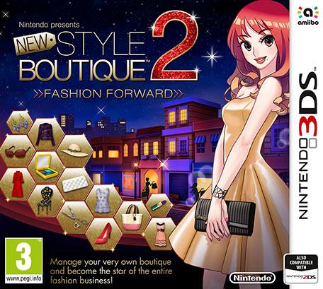 Nintendo New Style Boutique 2 - Fashion Forward, 3DS