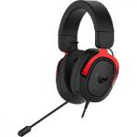 ASUS TUF Gaming H3 Headset Hoofdband Zwart, Rood