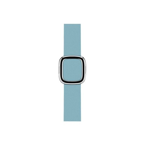 Apple 38mm Modern Buckle - Watch strap - blue jay - for Watch (38 mm), Watch Edition (38 mm), Watch Herm�s