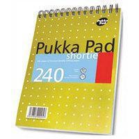 Pukka PUKKA SHORTIE METALLIC A5 WRIT PAD80GSM