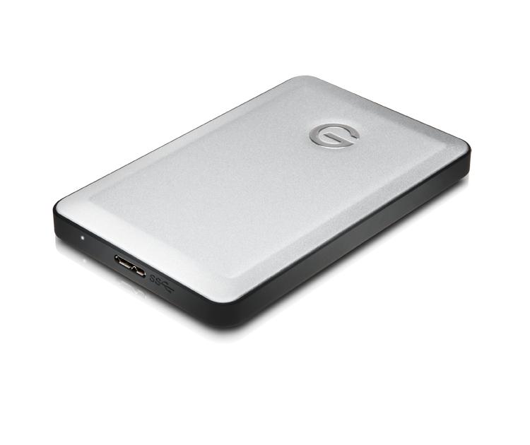 G-Technology G-DRIVE mobile USB 3.0 1000GB Black,Silver external hard drive