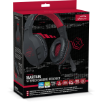 SPEEDLINK MARTIUS Binaural Head-band Black headset