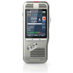 Philips Pocket Memo DPM8500 dictaphone Flash card Silver