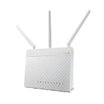 ASUS RT-AC68U draadloze router Dual-band (2.4 GHz / 5 GHz) Gigabit Ethernet Wit