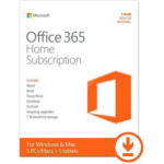 Microsoft Office 365 Home 5 license(s) 1 year(s)