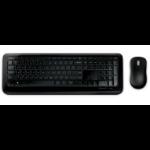 Microsoft Wireless Desktop 850 RF Draadloos Zwart