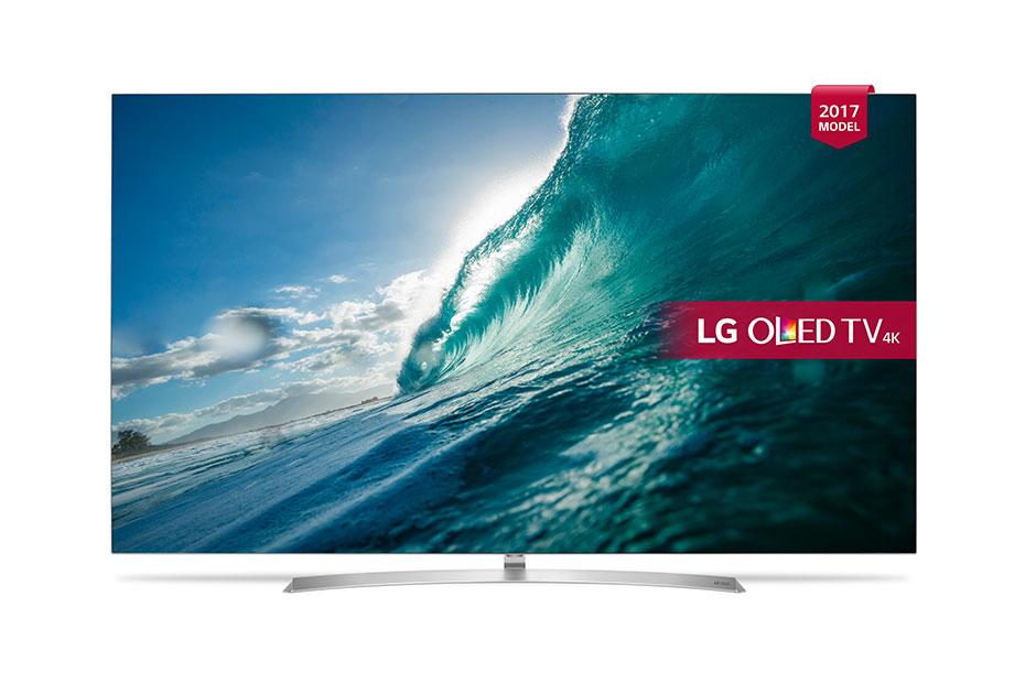 "LG OLED65B7V 65"" 4K Ultra HD Smart TV Wi-Fi Silver,White LED TV"