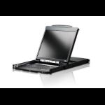 """Aten CL5800N rack console 48.3 cm (19"""") 1280 x 1024 pixels Black"""