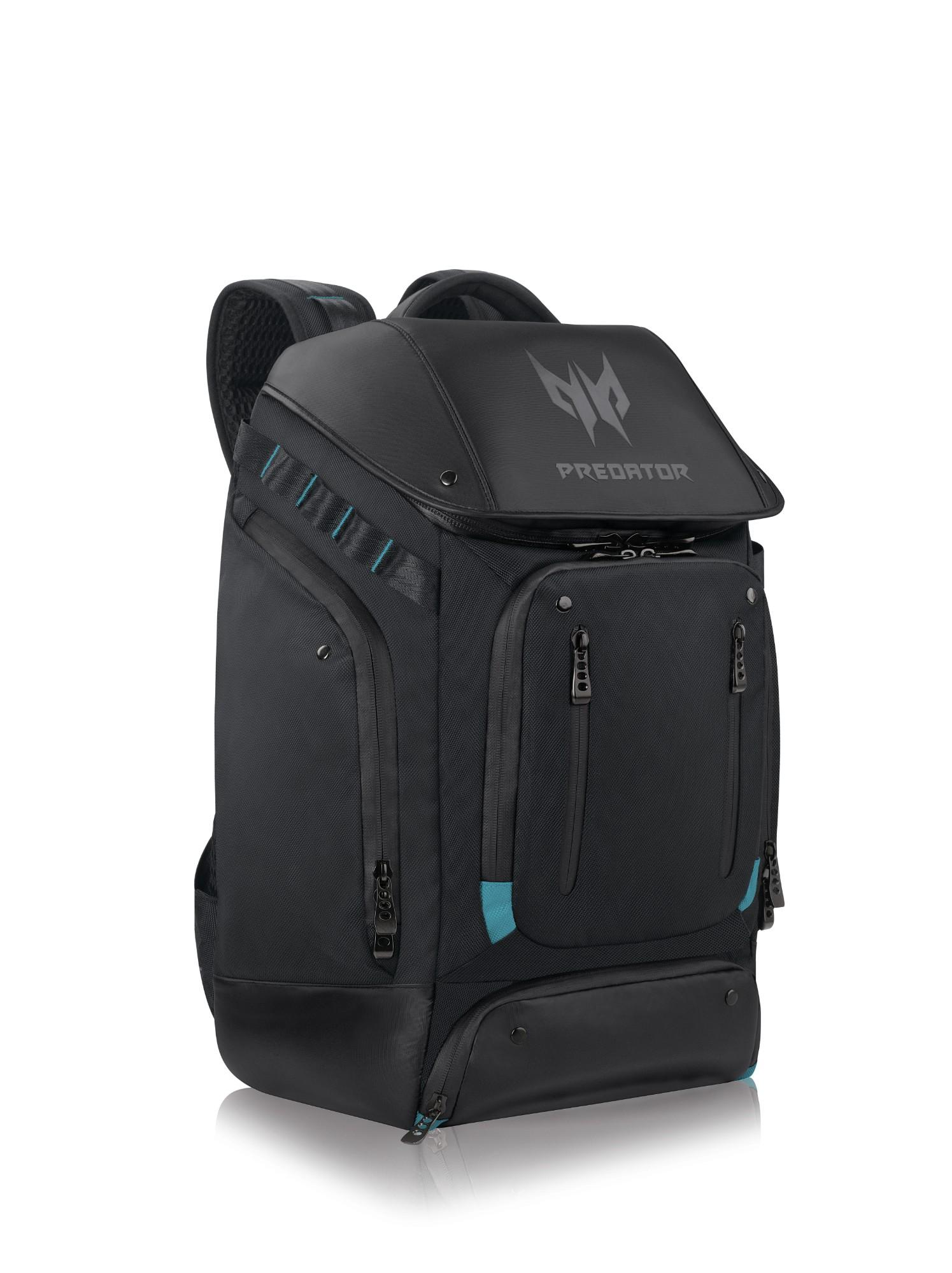 Acer Predator Utility backpack Polyester Black,Blue