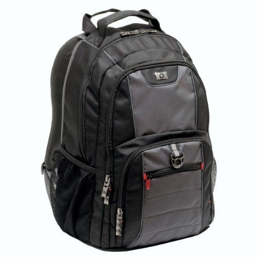 "Wenger/SwissGear 600633 16"" Backpack Black notebook case"