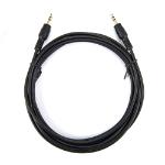 """Rocstor Y10C190-B1 audio cable 118.1"""" (3 m) 3.5mm Black"""