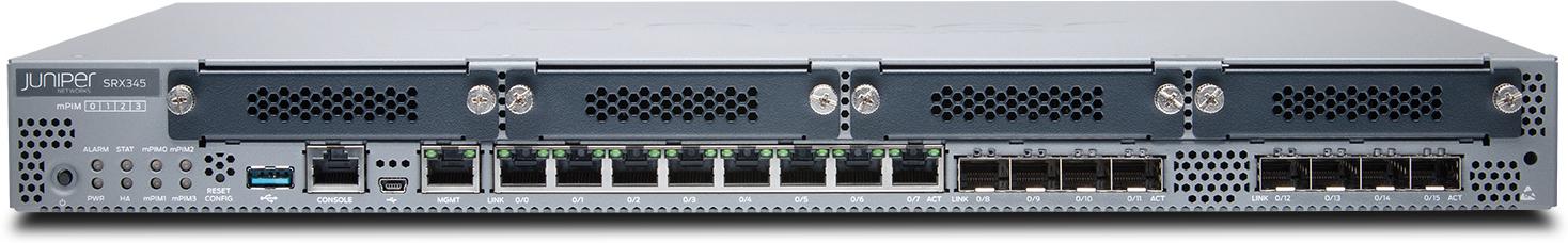 Srx345 Svcs Gateway With Hw Andjunos Sw Base