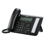 Panasonic KX-UT136 Wired handset 6lines LCD Black