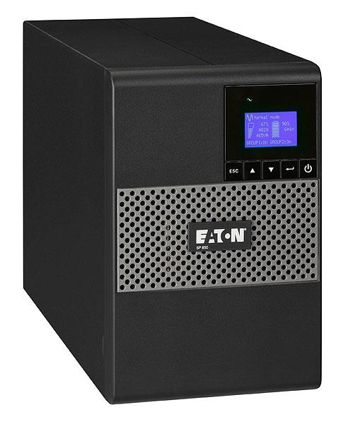 Eaton 5P 650i sistema de alimentación ininterrumpida (UPS) Línea interactiva 650 VA 420 W 4 salidas AC
