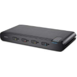 Linksys F1DN104P-3 KVM switch Black