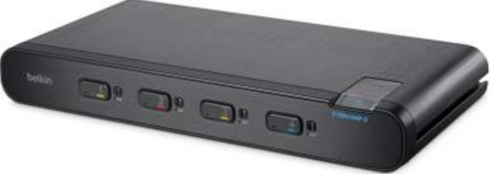 Advanced KVM Switch 4-port Plus