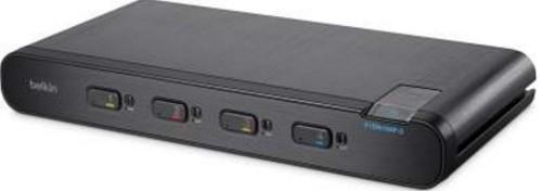 Linksys F1DN104P-3 KVM switch Black