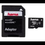Hama 64GB microSDXC memory card Class 10